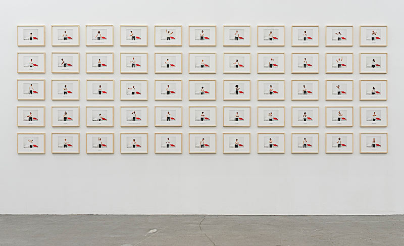 Installation view: LOST CODES, by Ibrahim Quraishi