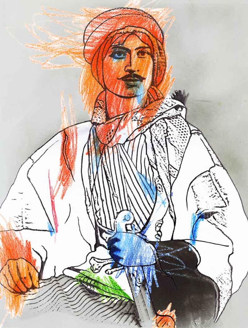 M PORTRAITS by Ibrahim Quraishi