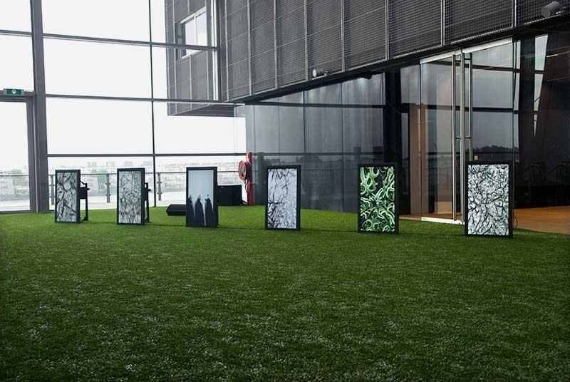 Installation view: DE PERSPECTIVA, by Ibrahim Quraishi